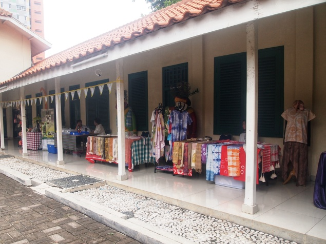 Area Bazaar di Museum Tekstil